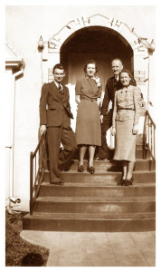 Lester & Ana Johnson Family 1940s